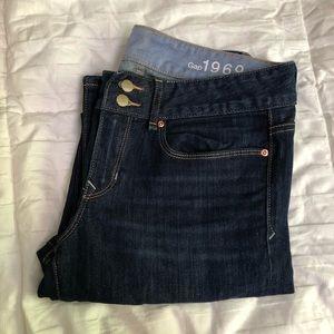 GAP Dark Wash Boot Cut Jeans